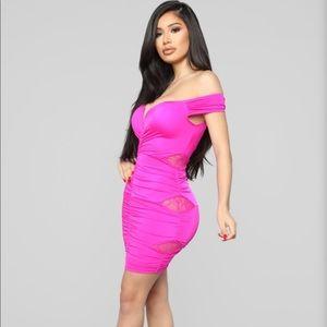 NWT Fashion Nova Off the shoulder  Mini Dress
